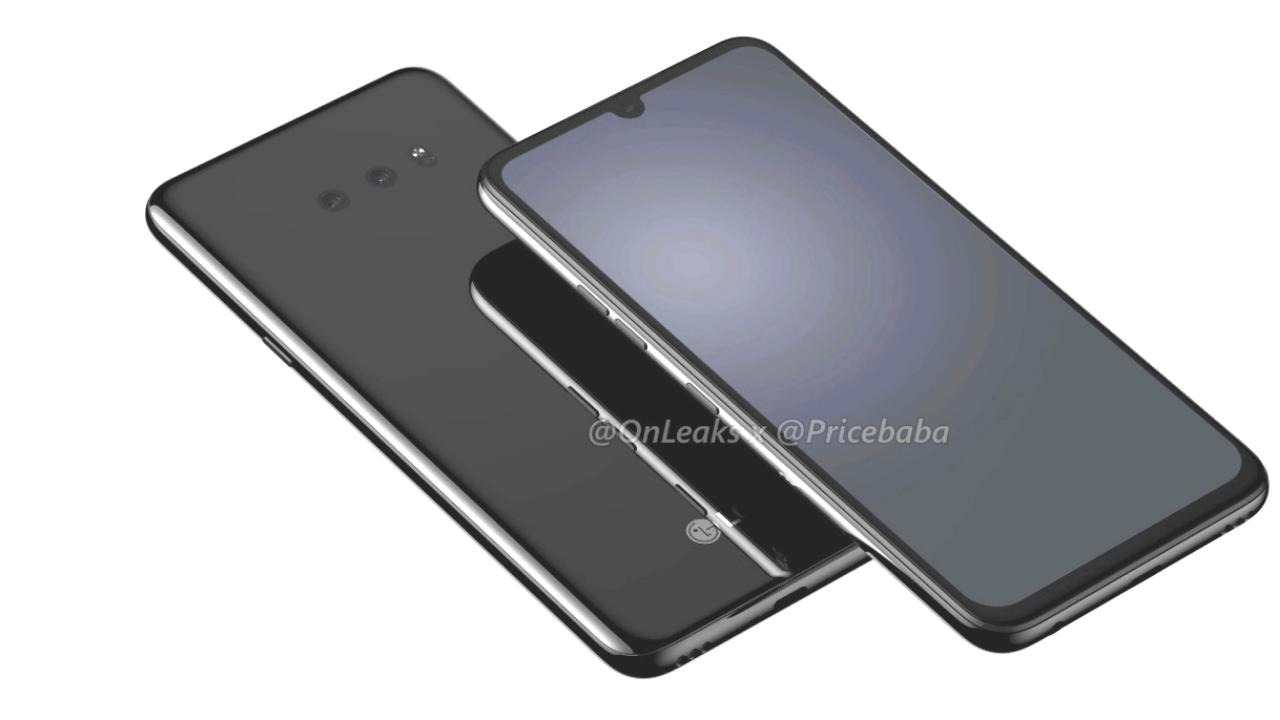Render Gambar LG G8X Terlihat Online sebelum Peluncuran Resmi IFA 2019