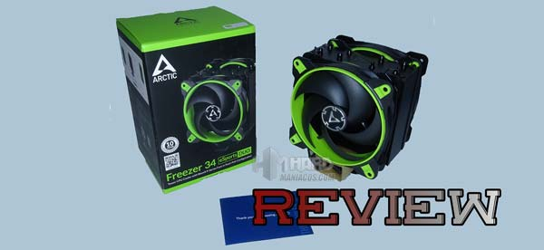 Arctic Freezer 34 eSports DUO Portada