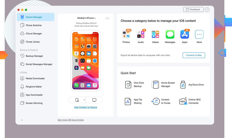 Ulasan AnyTrans 8 - Manajer iPhone Terbaik Untuk Dicoba Di tahun 2020