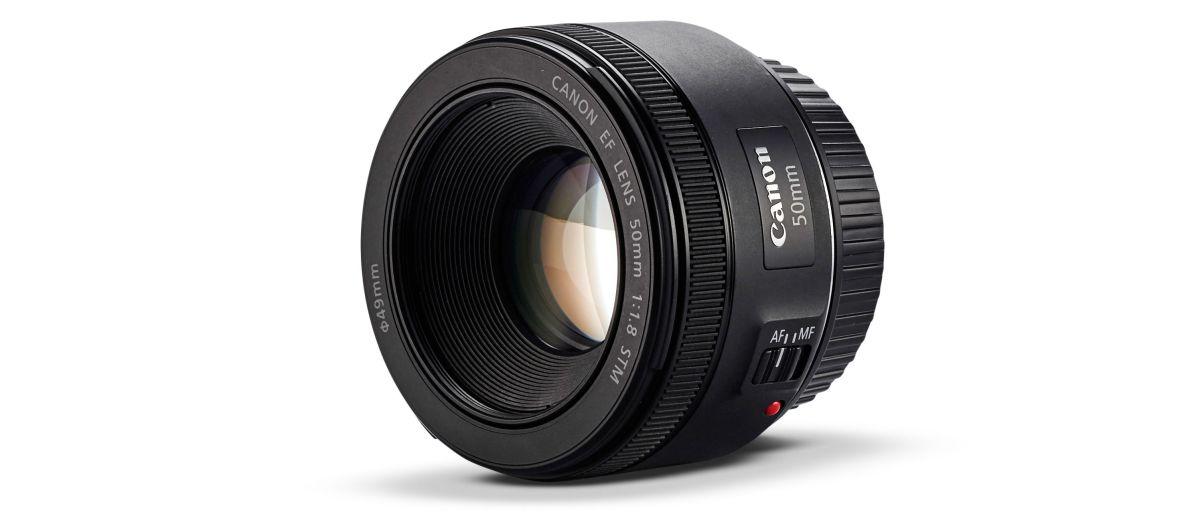 Ulasan Canon EF 50mm f / 1.8 STM 1