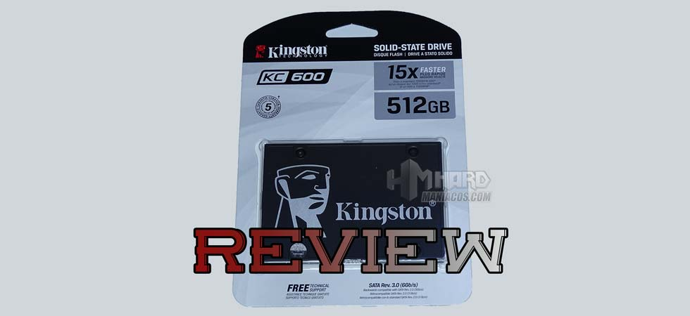 Kingston KC600 SSD arvostelu