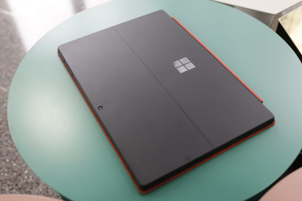 Surface Pro 7 closed