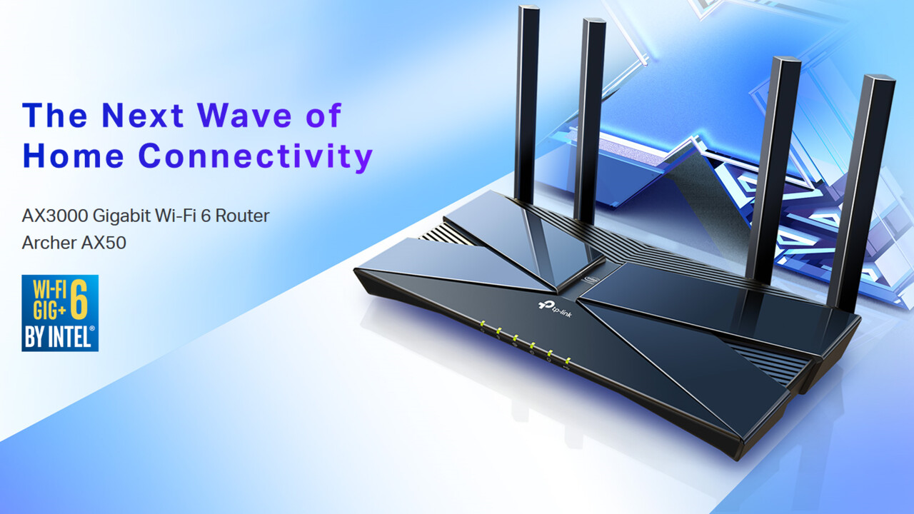 Wi-Fi-6-Router (WLAN 802.11ax): TP-Link Archer AX50 als Einstieg für bis zu 3 Gbit/s