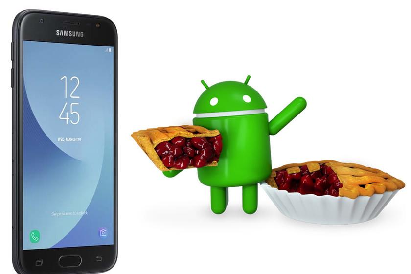 Samsung Galaxy J3 (2017) mulai menerima Android 9 Pie yang mungkin merupakan pembaruan besar terakhir