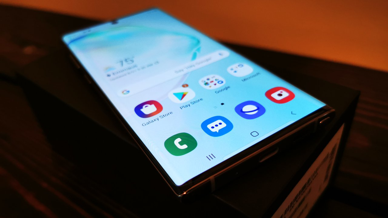 Samsung Galaxy Note        10 ensimmäistä vaikutelmaa