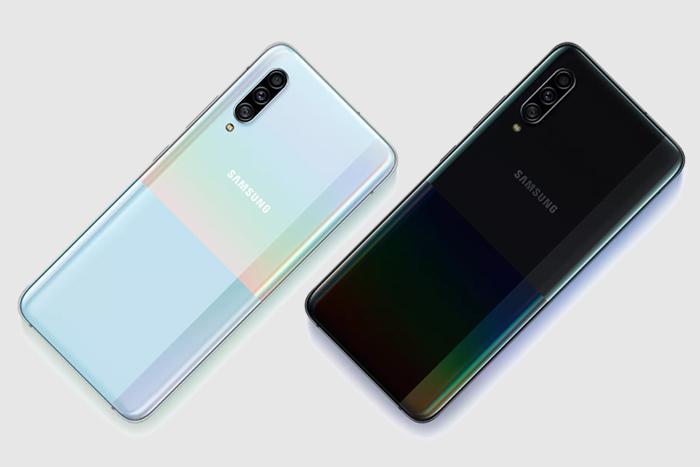 Samsung Galaxy Official A90 5G: características, comentarios y precios