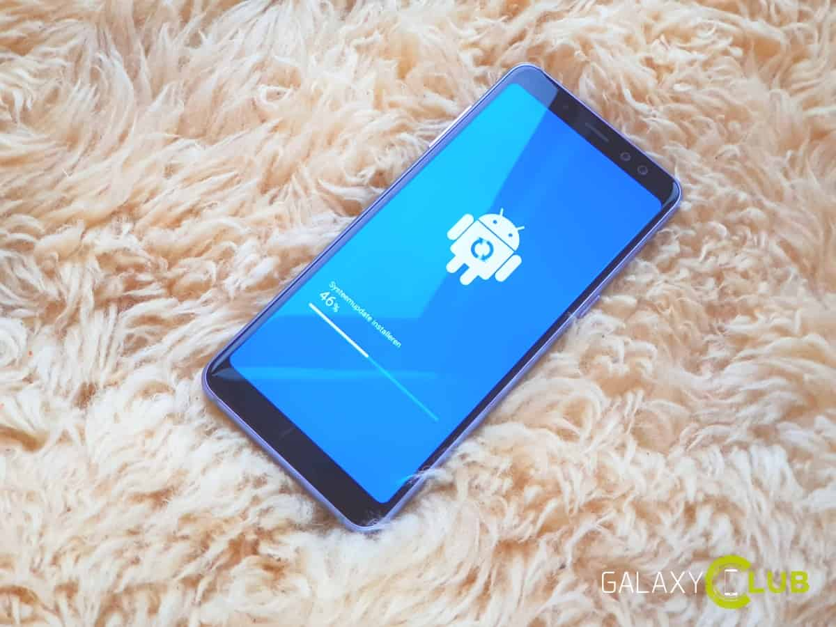 Samsung Galaxy Pembaruan A8 Agustus sekarang tersedia di Belanda 1