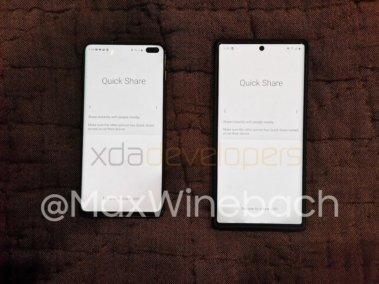 Samsung untuk membawa berbagi file Quick Share ke Galaxy perangkat