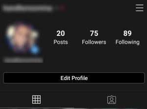 كيف تعرف من يرى الخاص بك Instagram 3