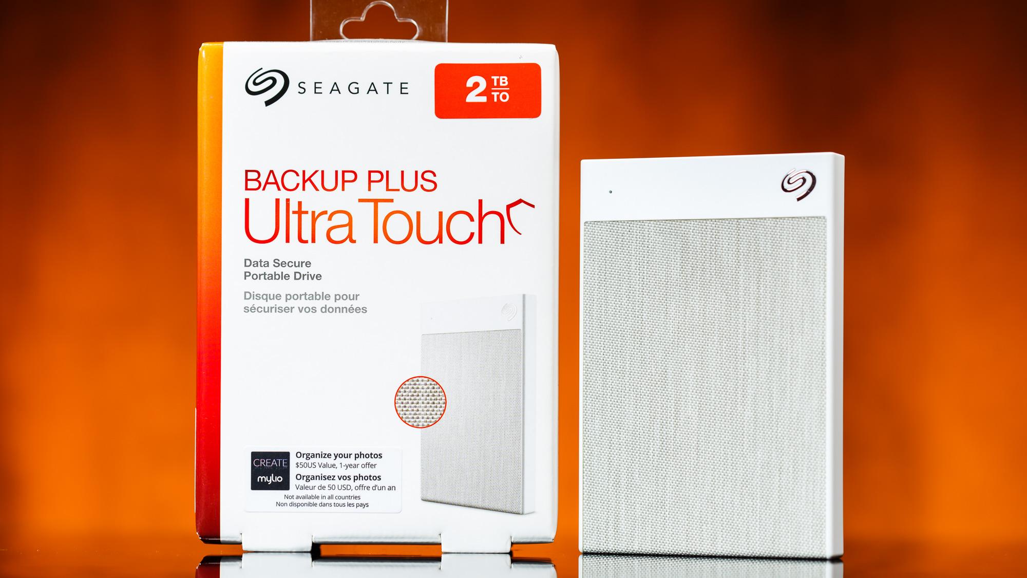 Unidad de disco duro portátil Seagate Backup Plus Ultra Touch (Crédito: Tom