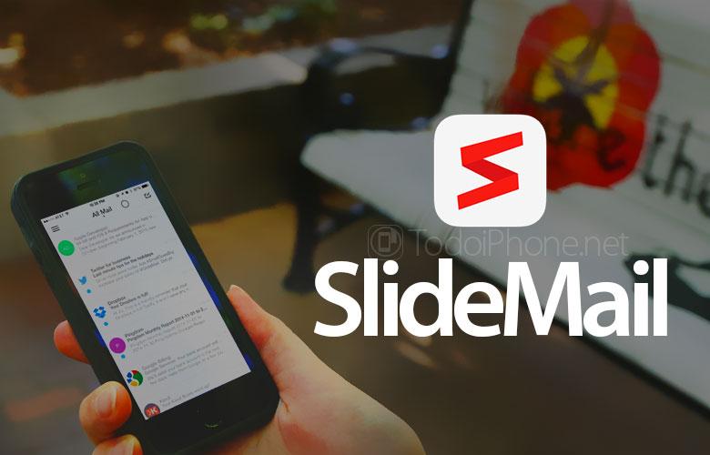 SlideMail aplikasi email iPhone yang mengatur pesan dengan cerdas 1