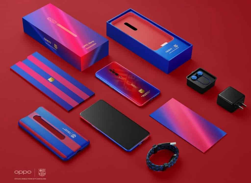 Just for fans: Oppo Reno 10X Zoom FC Barcelona Edition has arrived! 1
