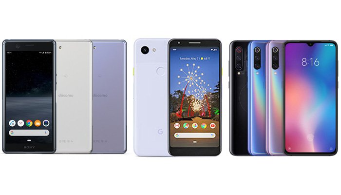 Sony Xperia Ace vs Xiaomi Mi 9 SE vs. Google Pixel 3a: Perbandingan Fitur 1