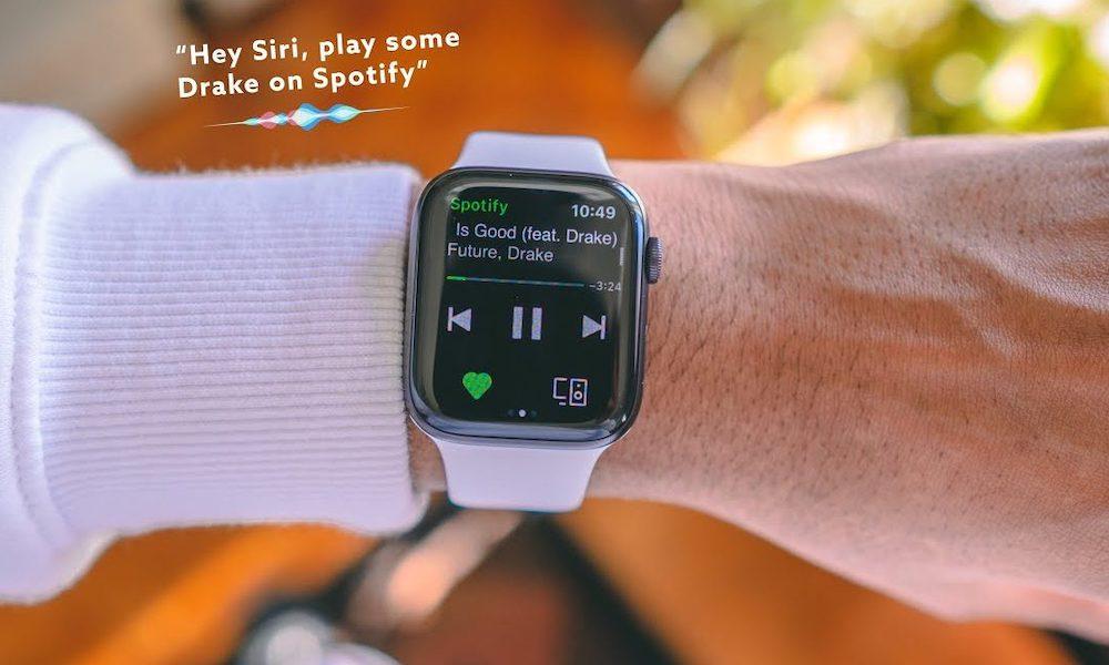 Spotify fungerar nu med Siri på Apple Watch - Prova dessa 15 kommandon 1