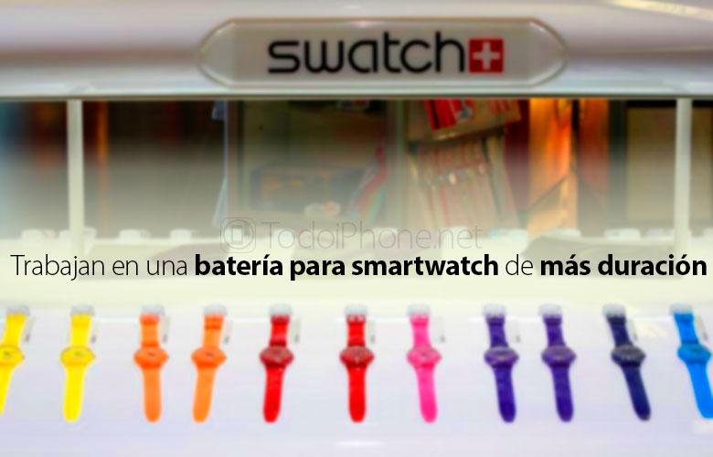 Swatch valmistaa akkuja entistä itsenäisemmin vuodelle 2016