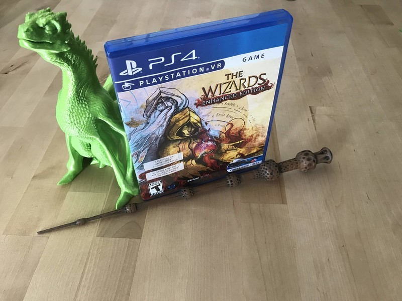 The Wizards: Enhanced Edition untuk ulasan PlayStation VR: Magic (hampir) nyata 1