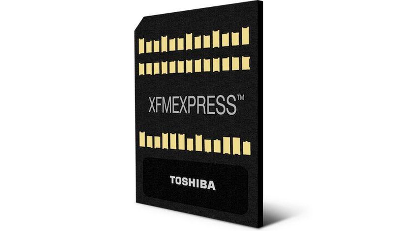 Toshiba Menampilkan Solusi Baru Ultra Compact NVMe SSD