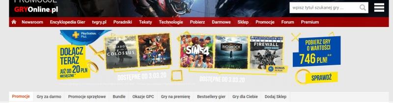 Một quảng cáo bị rò rỉ, bao gồm Shadow of the Colossus và Sonic Forces miễn phí trên ... 2
