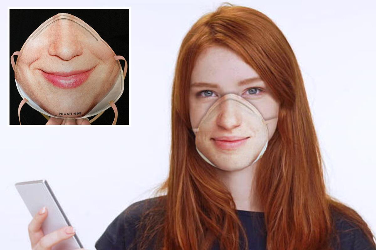 'Masker bedah' yang aneh yang terlihat seperti wajah Anda ditujukan untuk pemilik iPhone yang takut akan coronavirus