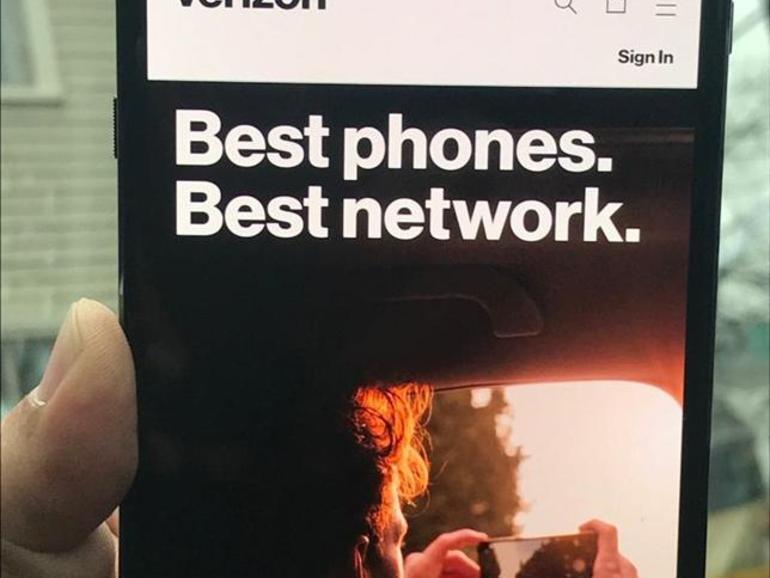 Verizon menghubungkan ponsel cerdas ke jaringan 5G
