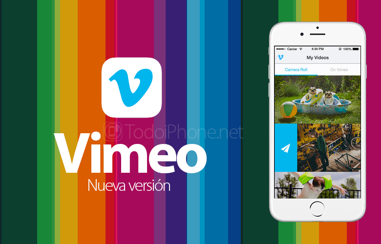 IPhonen Vimeolla on nyt Chromecast ja muu tuki