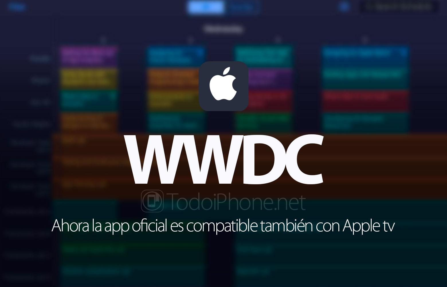 WWDC 2016, oficjalna aplikacja obsługuje teraz Apple tv