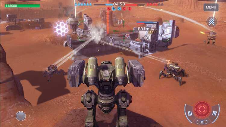 War Robots, một game bắn súng trên Android hứa hẹn sẽ ... 1