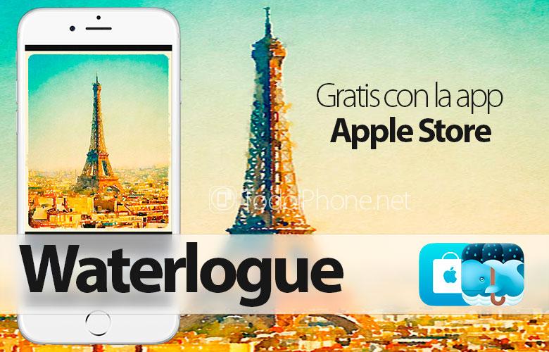 Waterlogue, dapatkan secara GRATIS melalui aplikasi Apple Toko 1