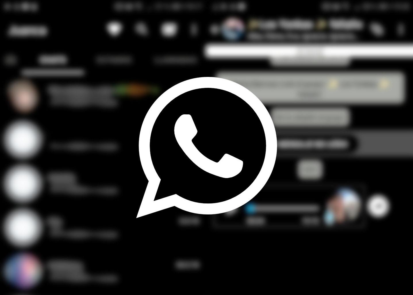 """WhatsApp mengonfirmasi """"mode gelap"""" dalam pembaruan berikutnya 1"""