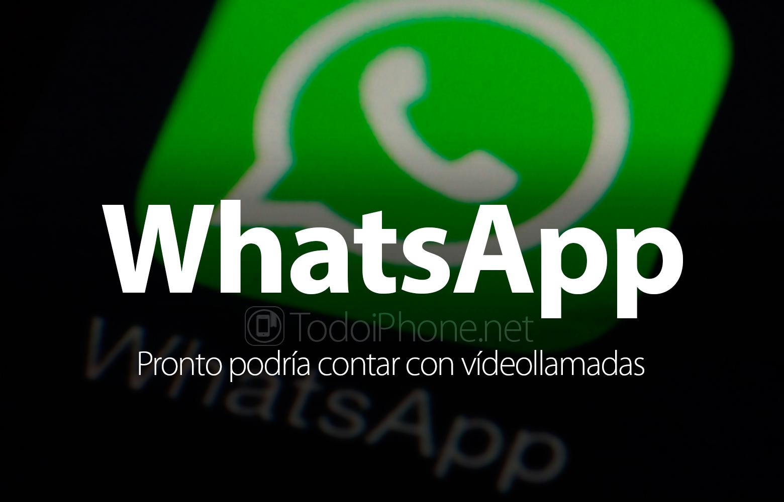 WhatsApp dapat segera melakukan panggilan video 1