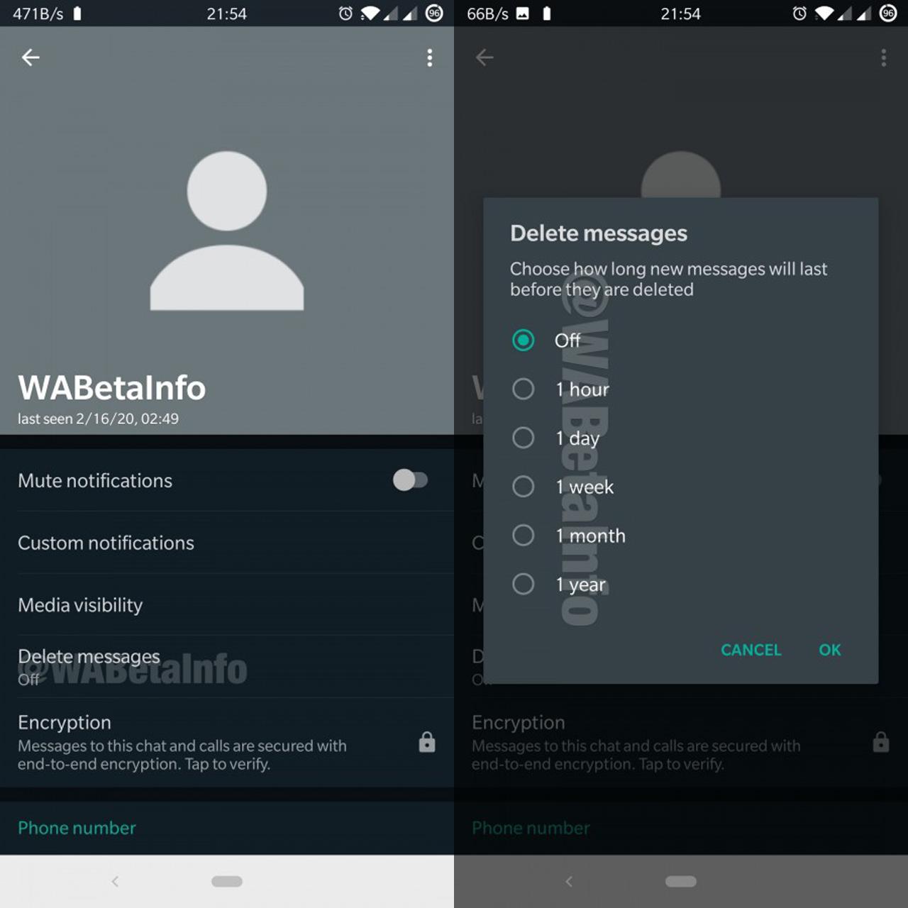 WhatsApp restringe el reenvío a un solo contacto a la vez