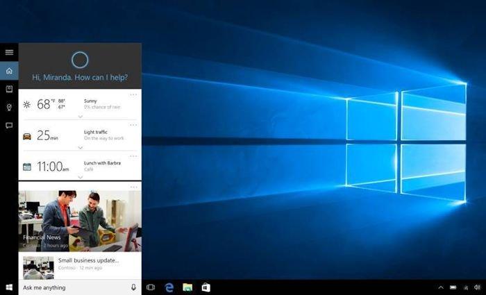 Windows Người dùng báo cáo rằng Cortana là một tài nguyên cho PC 4