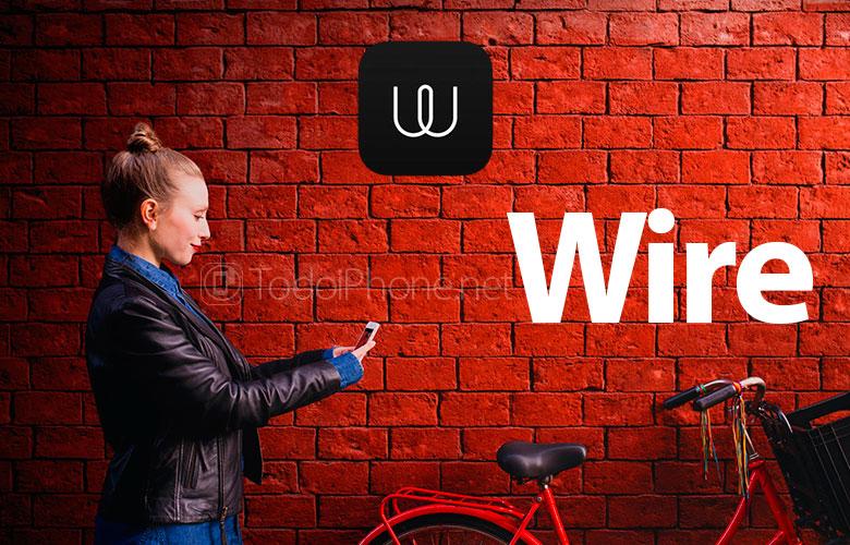 Wire untuk iPhone, aplikasi dari co-founder dari Skype 1