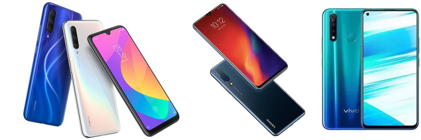 Xiaomi Mi CC9 vs Lenovo Z6 vs Vivo Z1 Pro: Perbandingan Fitur 1