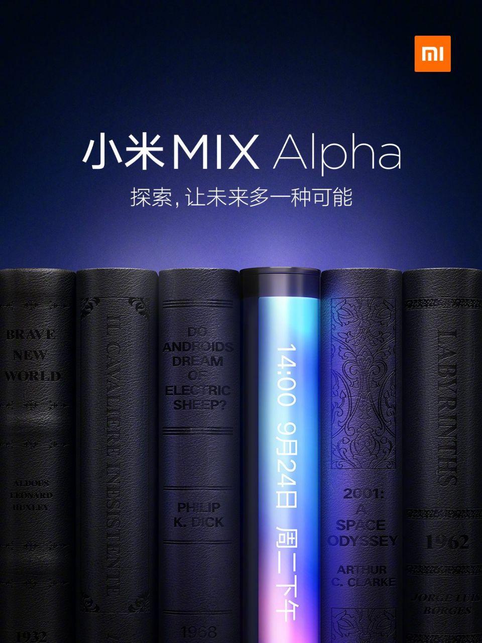 Xiaomi Mi Mix Alpha sẽ có một mối quan hệ màn hình thân máy điên rồ 1