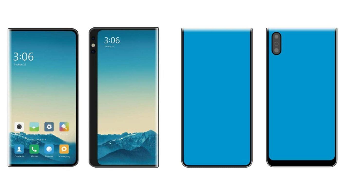 Xiaomi Paten Ponsel Cerdas Lipat Baru Yang Mungkin Tidak Pernah Melihat Cahaya Hari; Here Are Some Render 1