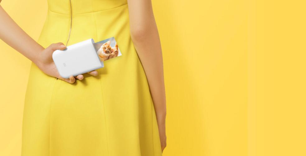 Xiaomi mengumumkan printer portabel barunya yang mampu mencetak foto dengan augmented reality