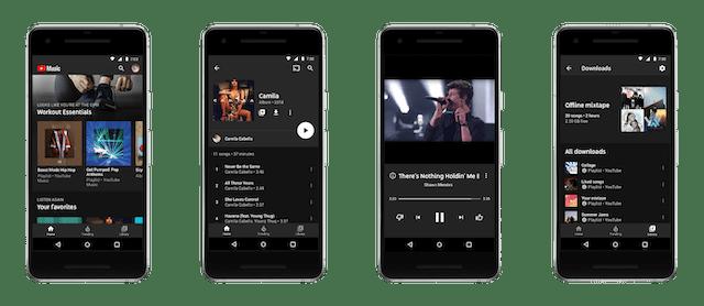 YouTube Musik Untuk Android Diperbarui Dengan Bagian Lirik