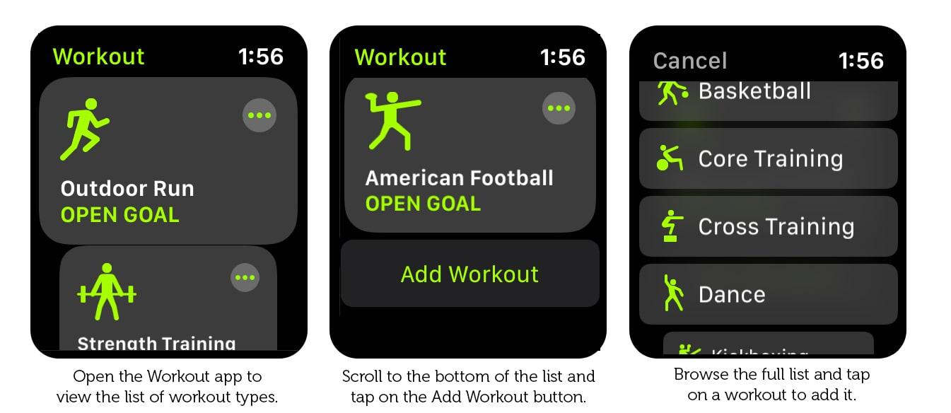Cách thêm Apple Watch tập thể dục tại nhà
