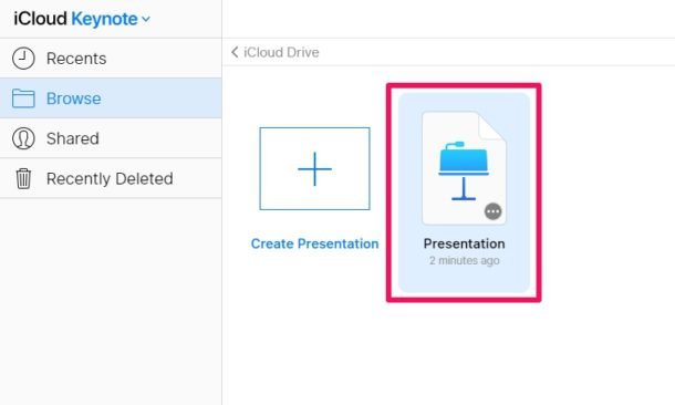 Cómo abrir archivos Keynote en Windows PC con iCloud