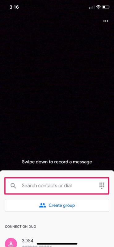 Cómo hacer videollamadas con Google Duo en iPhone y iPad