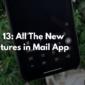 iOS 13: Todas las características nuevas en la aplicación de correo