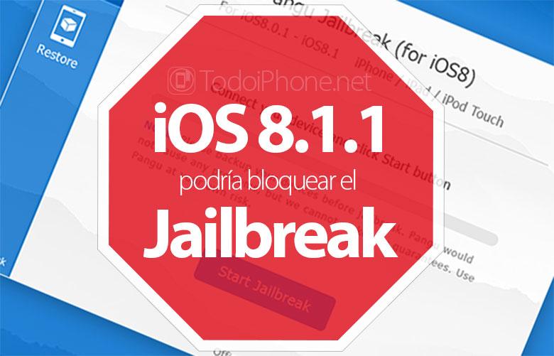 iOS 8.1.1 bạn có thể chặn jailbreak iPhone bằng Pangu8 1