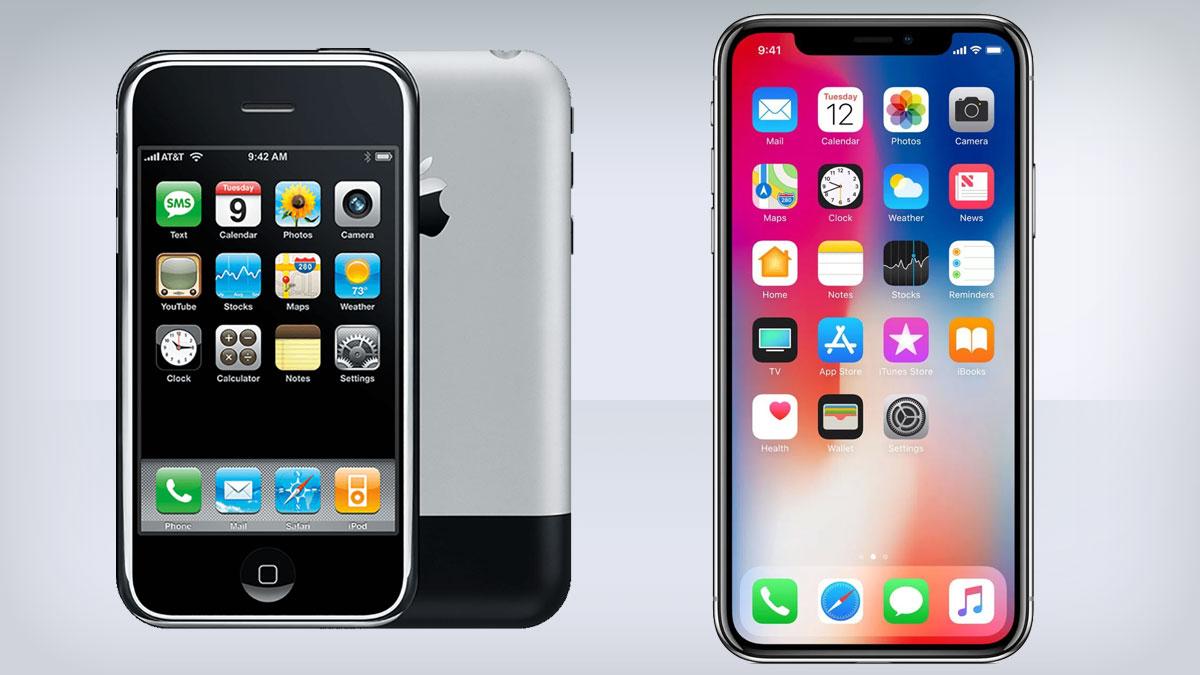 iPhone selama berabad-abad: seberapa banyak itu telah berubah?
