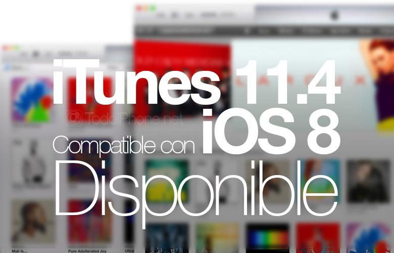 iTunes 11.4, kompatibel dengan iOS 8, sekarang tersedia 1