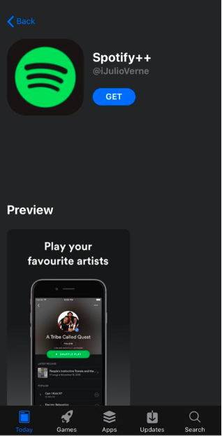 Download Spotify ++ Premium for iOS and enjoy free music 11