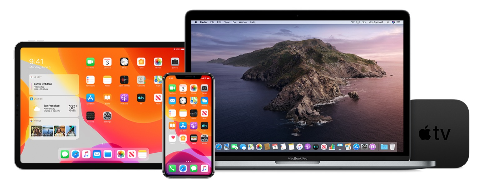 iOS 13.4.5 beta, iPadOS 13.4,5 beta, macOS Catalina 10.15.5 beta