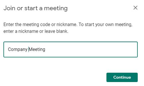 nama rapat