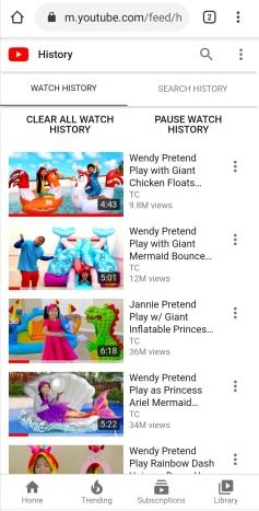 Ako môžeš vidieť YouTube Webové stránky vášho telefónu 5