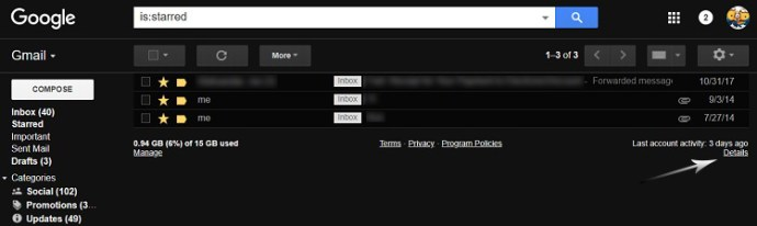 Cara melihat riwayat masuk Gmail 1